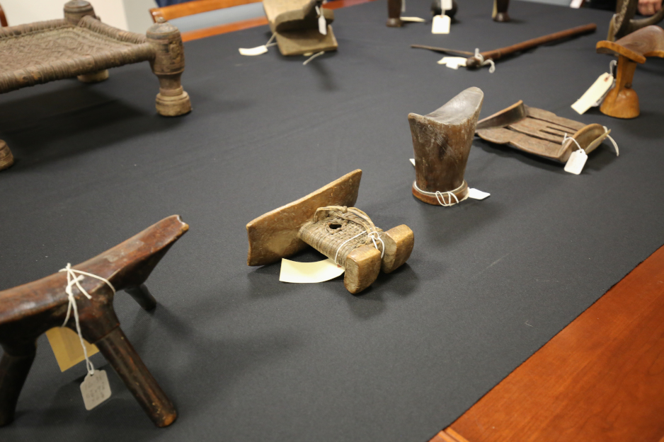 African art on display at the Palmer Museum