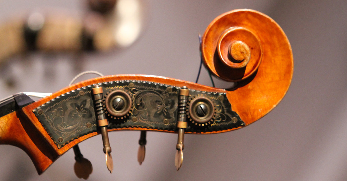 This is a photo of a string instrument.